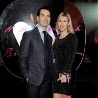 Jimmy Carr and Karoline Copping