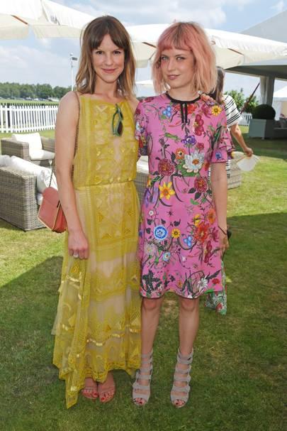 Fuschia Kate Sumner and Henrietta Tiefenthaler