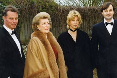 Jeremy Brudenell, Lady Pamela Hicks, Mrs Jeremy Brudenell and the Hon Timothy Knatchbull