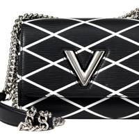 Leather bag, £2,047, by Louis Vuitton