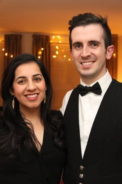 Craig Stevenson and Saira Ghafur