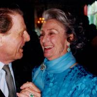 Edward Fox and Princess George Galitzine