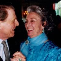 Edward Fox and Princess George Galitzine