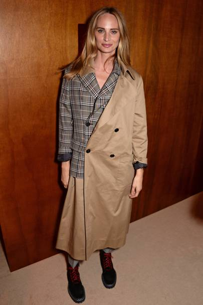 Lauren Santo Domingo at the ALEXACHUNG show
