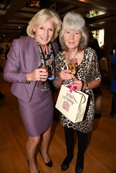 Lucinda Green and Jilly Cooper