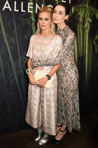 Laura Bailey and Erin O'Connor