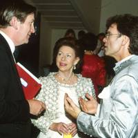 Major Michael Parker, Princess Margaret and Cliff Richard