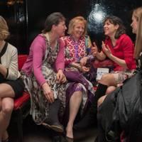 Jessica Lambert, Maria Pakenham, Rosanna Gardner, Blanche Girouard and Nadine Mentior