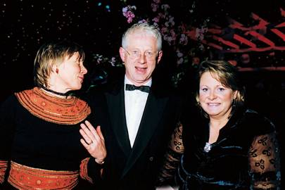 Lady Rowena Crichton-Stuart, Richard Curtis and Mrs Rory Fraser