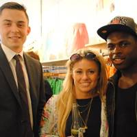 Hamilton Bowler, Holly Bennett and Christian Wade