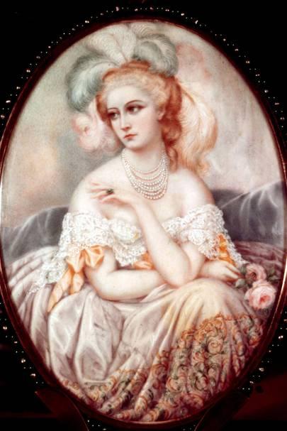 Virginia de Castiglione - Napoleon III