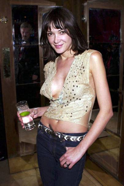 2001: At Sugar Reef celebrating Amanda Donohoe's first night in The Graduate