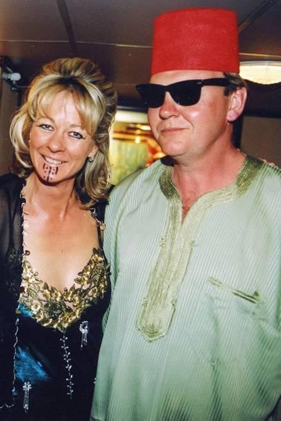 Lucinda Burrell and Nicholas Deterding