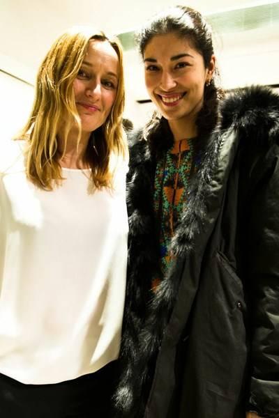 Imogen Crosby and Caroline Issa