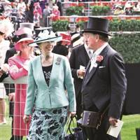 Princess Anne and Brigadier Andrew Parker Bowles