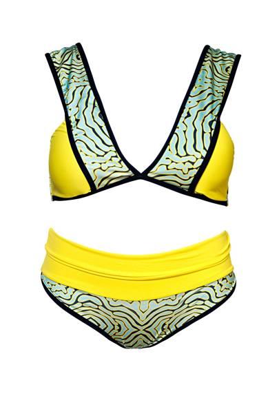 Bikini set, £148, by Nikki de Marchi