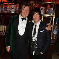 Stephen Fry and Elliott Spencer