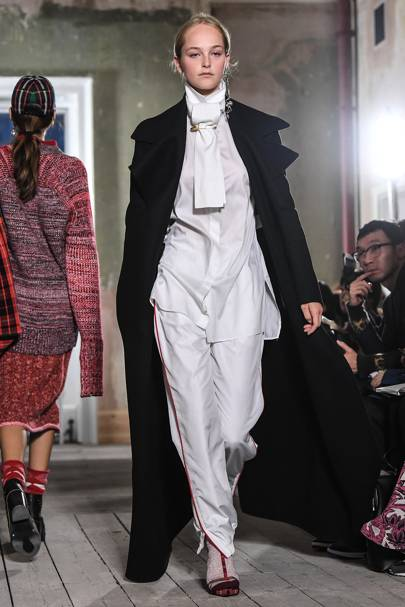 Burberry at London Fashion Week S/S18
