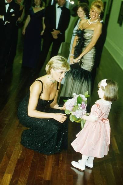 Diana, Princess of Wales, Mrs Gerard Wertheimer and Isabella Townsley