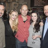 Jez Butterworth, Miranda Raison, Ian Rickson, Laura Donnelly and Dominic West