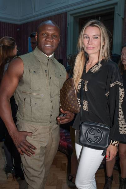 Chris Eubank and Pippa Vosper