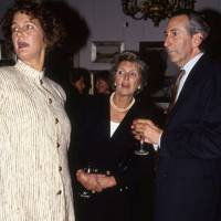 Sara Studd, Mrs Michael Heseltine and Victor Edelstein