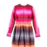 Silk dress, £1,290, by Valentino