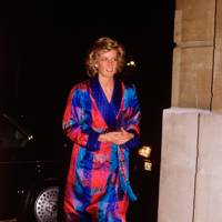 Princess Diana of Wales at the Fashion Week opening event, 1988