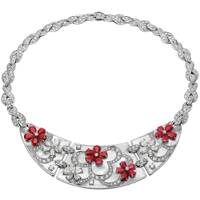 Ruby and diamond necklace, POA, Bulgari