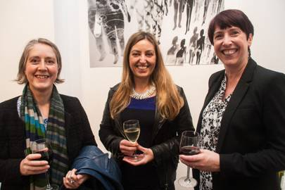 Pam Orchard, Liz Gootster and Janet Smith