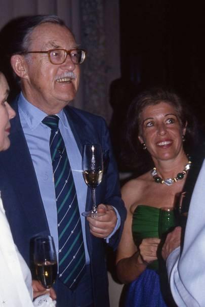 Alan Whicker and Valerie Kleeman