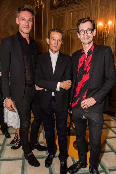 Patrik Fredrikson, David Gill and Ian Stallard
