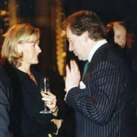 Catya von Huetz and Hew Blair