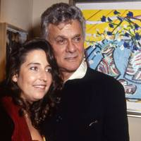 Mrs Tony Curtis and Tony Curtis