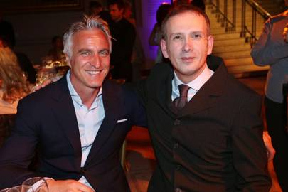 David Ginola and Diego Giolitti