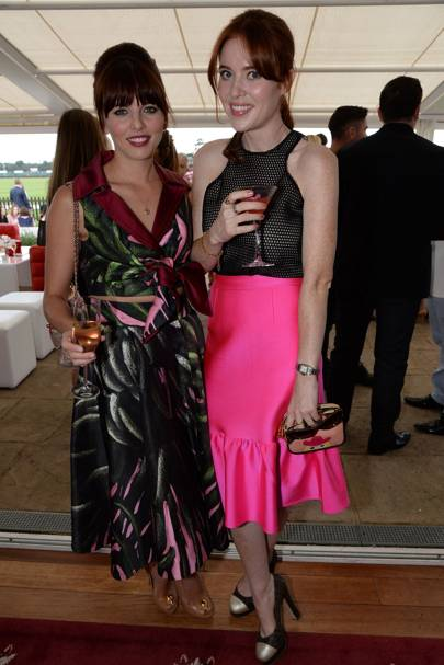 Ophelia Lovibond and Angela Scanlon