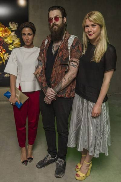 Yasmin Sewell, Richie Culver and Lucinda Isabella