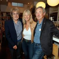 Bill Wyman, Nettie Mason and Nick Mason