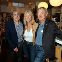 Bill Wyman, Nettie Mason and Nick Mason