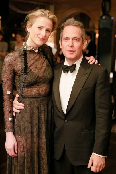 Mamie Gummer and Tom Hollander