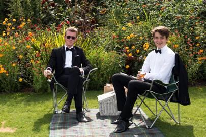 Thomas Parfitt and Max Parfitt