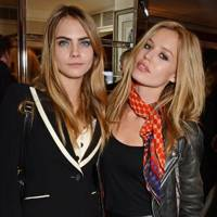 Cara Delevingne and Georgia May Jagger