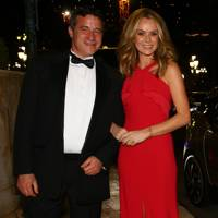 Mark Kenber and Amanda Holden