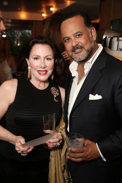 Anne Prevost and Raj Tolaram