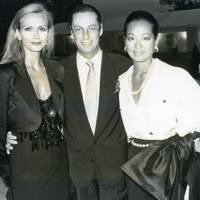 Maria Angela Cipriani, Giles Hennessy and Mrs Giles Hennessy