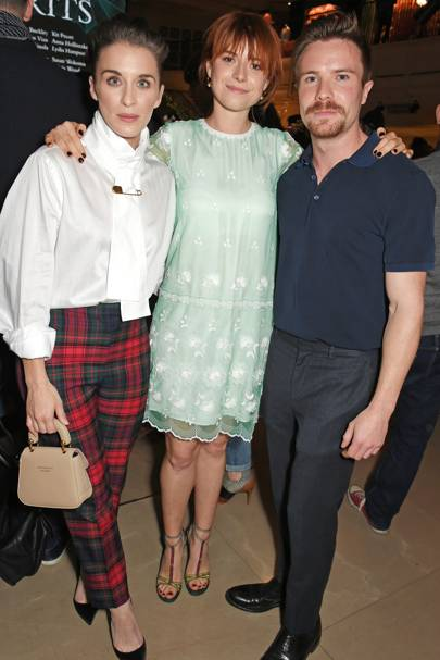 Vicky McClure, Jessie Buckley and Joe Dempsie
