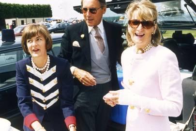 Iona Sale, Richard Andrew and Katy Lady Dashwood