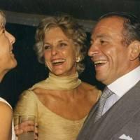 Mrs Charles Stopford Sackville, Mrs Philip Harari and Philip Harari