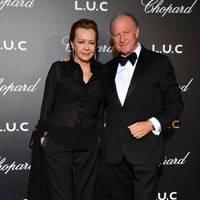 Caroline Scheufele and Alberto Morillas
