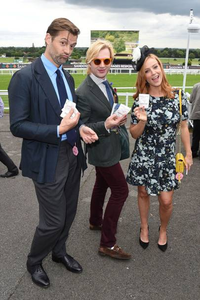Patrick Grant, Henry Conway and Sarah-Jane Mee